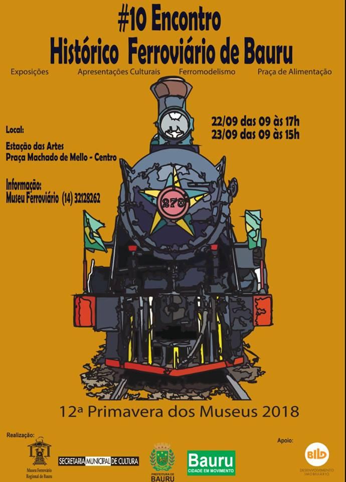 10º Encontro Histórico Ferroviário de Bauru